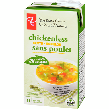 PC Plant Based Chickenless Broth