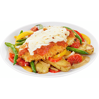 Uncooked Chicken Parmesan With Vegetables, Serves 4