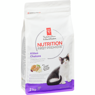 PC Nutrition First, Kitten, Chicken, Rice & Pea Recipe