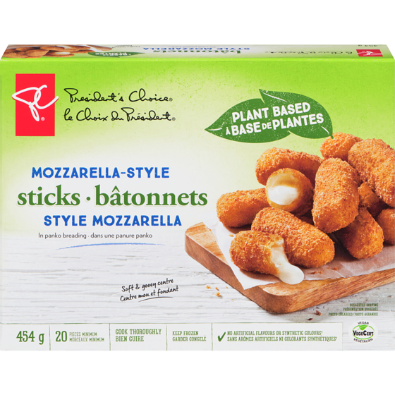 PC Plant Based Mozzarella-Style Sticks