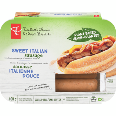 PC Plant Based Sweet Italian Sausage