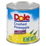 Crushed Pineapple in Pineapple Juice