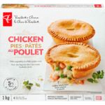 Chicken Pies, Microwavable