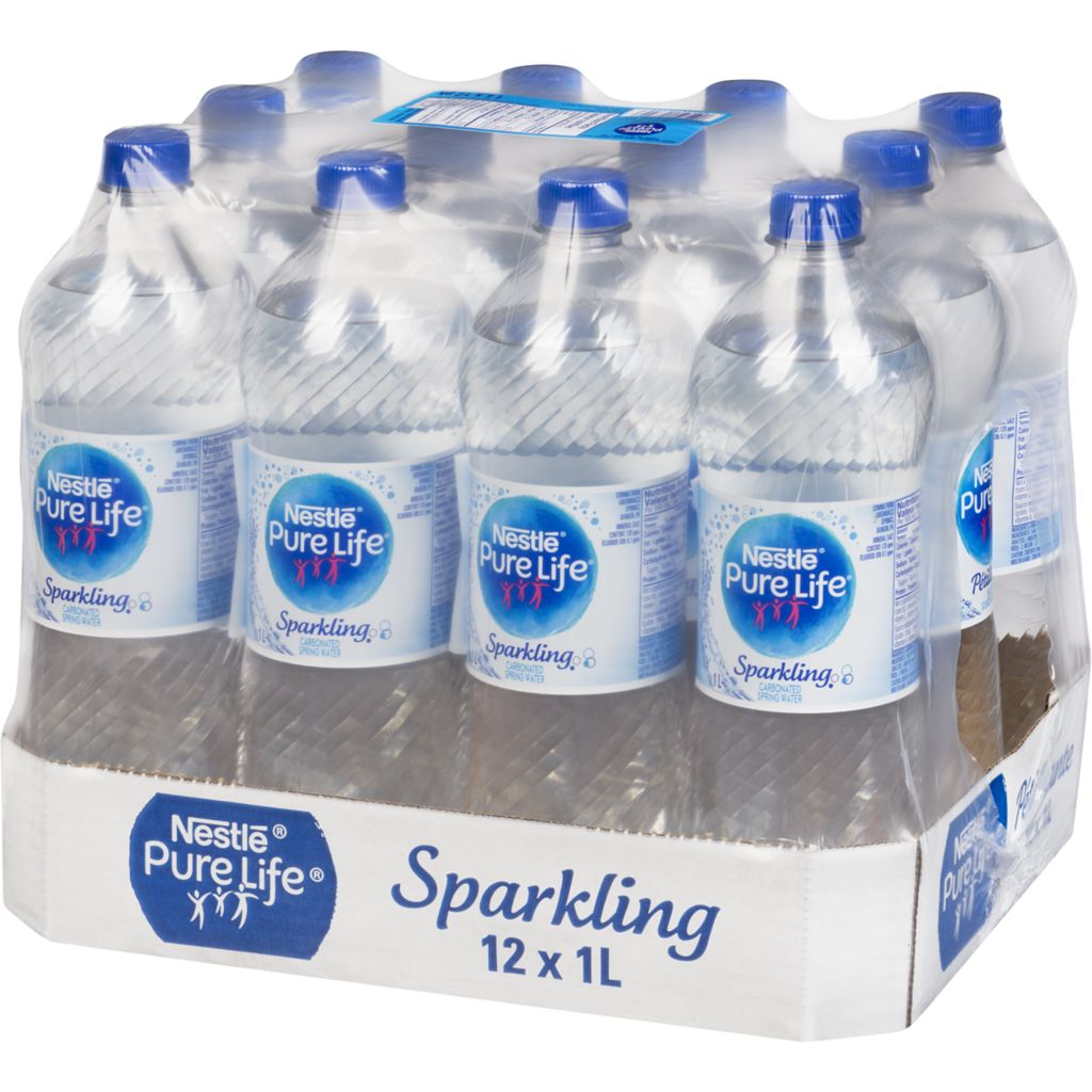 Pure Life Sparkling Natural Spring Water