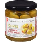 Olives, Stuffed with Peppers