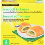 Stuffed Breaded Chicken, Broccoli & Cheese (2 Pack)