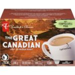 Single Serve Pods, The Great Canadian Light Medium Roast