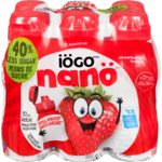 Nano Drinkable Yogurt, Strawberry