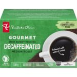 Single Serve Pods, Gourmet Decaffeinated Medium Roast
