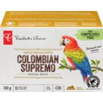 Single Serve Pods, 100% Colombian Supremo Medium Roast