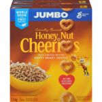 Honey Nut Cheerios Jumbo Box