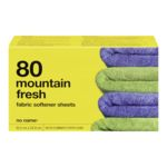 Dryer Sheets, Mountain