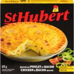 Chicken & Bacon Quiche, Frozen