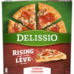 Rising Crust Canadian Pizza