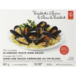 PEI Mussels in Creamy White Wine Sauce
