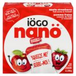 Nano Yogurt Pouch, Apple-Strawberry