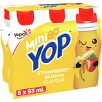 Minion Yogurt Drink, Banana Strawberry