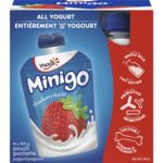 Minigo Yogurt, Strawberry