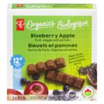 Oat Bars, Blueberry Apple