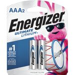 UltimateLithium Batteries AAA2