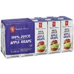 100% Apple & Grape