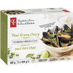 PEI Mussels, Thai Green Curry