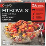 Fit Bowls, Pork Carnitas Bowl
