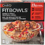 Fit Bowls, Sweet & Spicy Meatball Bowl
