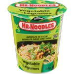 Vegetable Flavour Noodles in a Cup